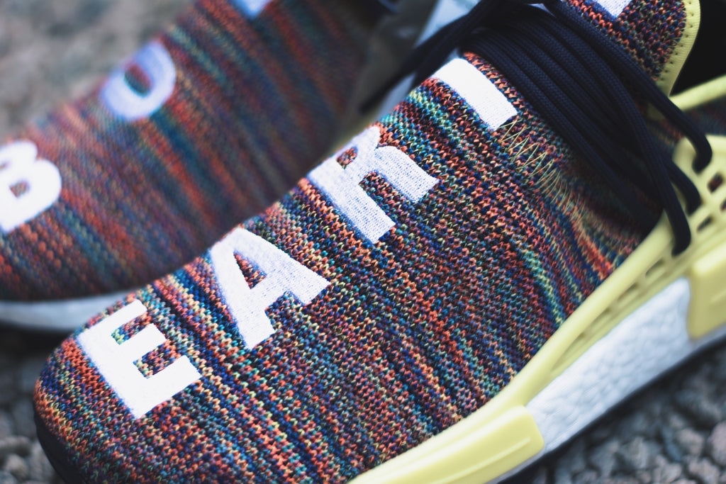 "Adidas x Pharrell Williams Human Race NMD ""Multicolor"""