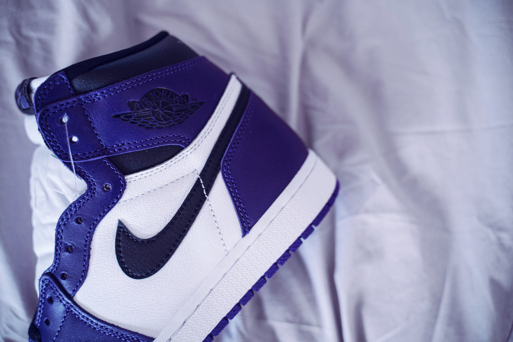 Air Jordan 1 Retro High Court Purple White