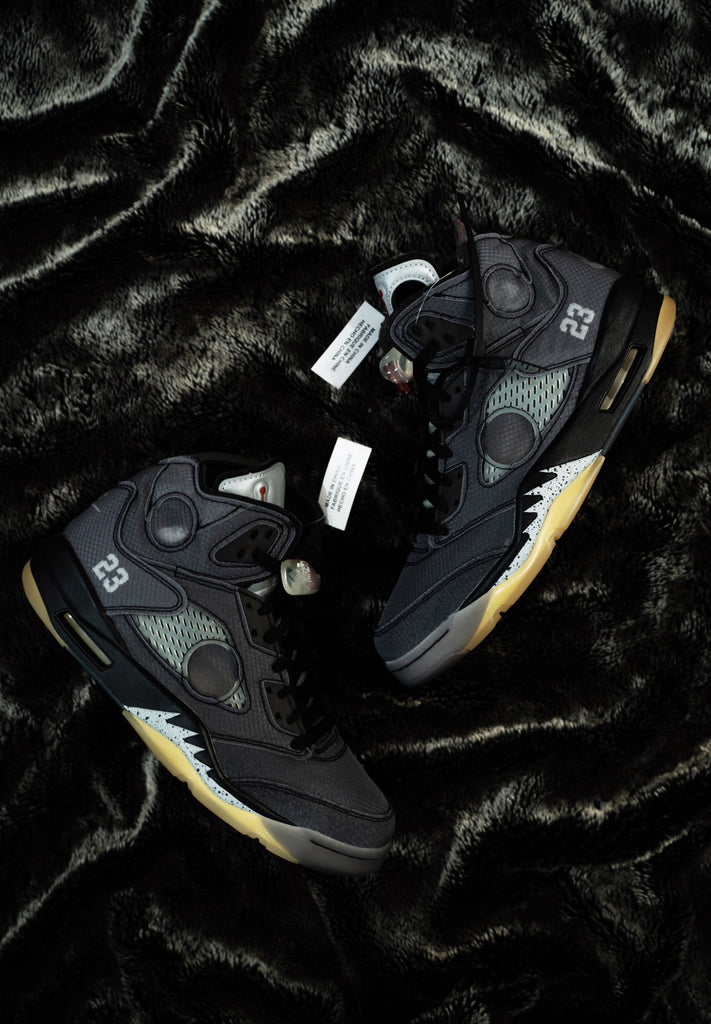 Air Jordan 5 Retro Off-White Black