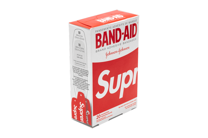Supreme Bandaids, Red
