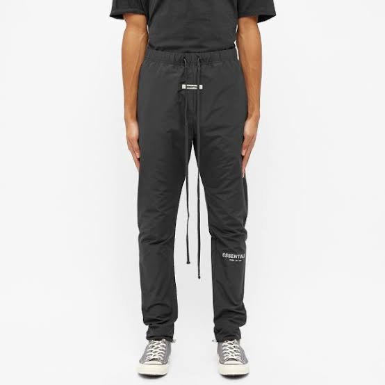 Fear of God Essentials Black Track Pant
