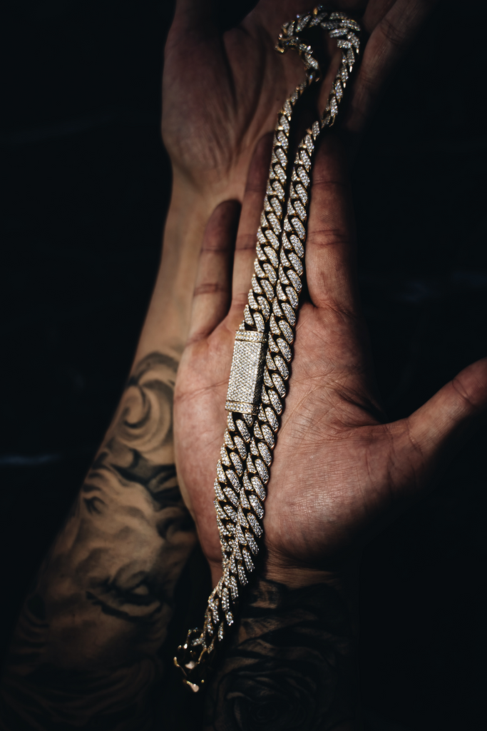 Custom Diamond Miami Cuban Link Necklace