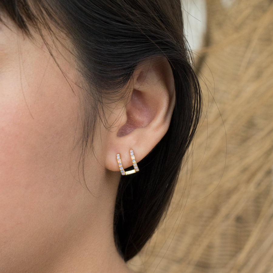 Alessia Opal Earrings