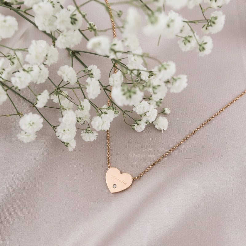Larae Heart Necklace - Made Different Co Indonesia