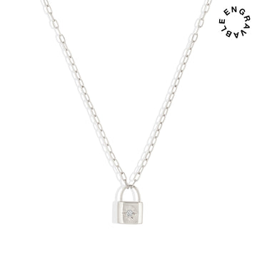 Loyalty Lock Necklace