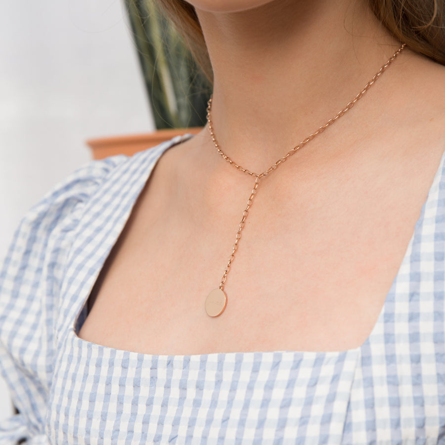 Verlyn Lariat Necklace - Made Different Co Indonesia