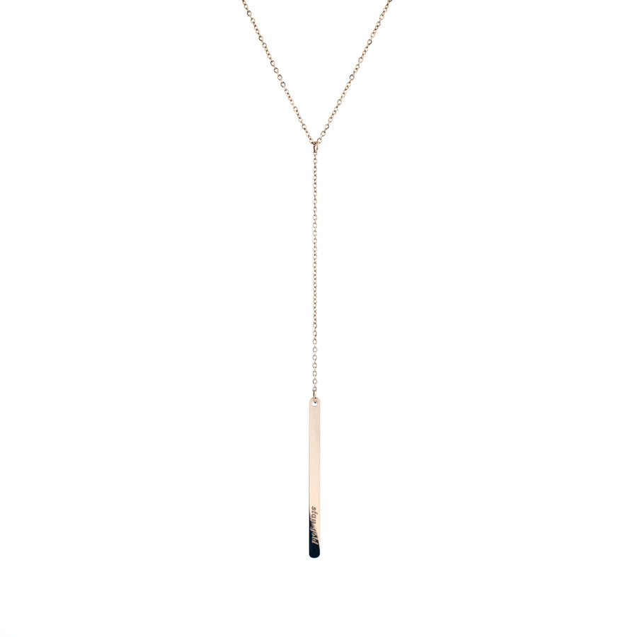 Lyvia Drop Bar Necklace - Made Different Co Indonesia