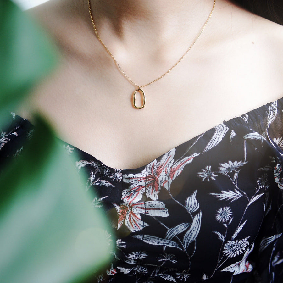 Ambre Gold Necklace - Made Different Co Indonesia