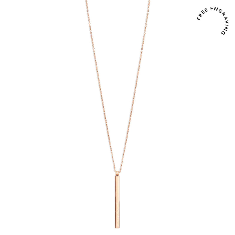 Thea Bar Necklace