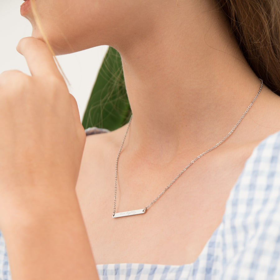 Horizontal Bar Necklace - Made Different Co Indonesia