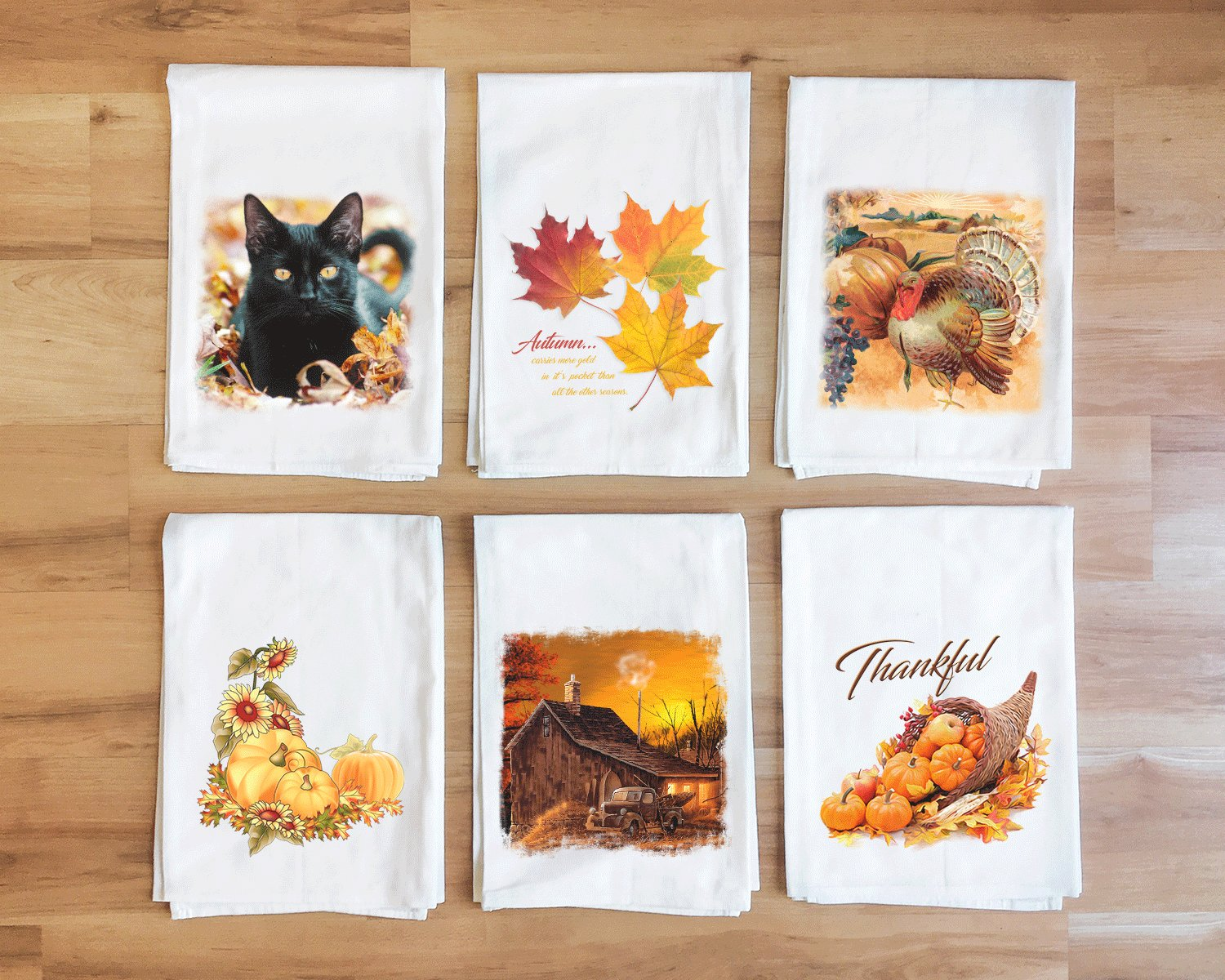 Autumn Bounty Towel