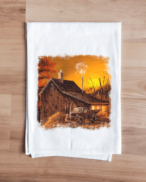 October Farmstead Towel