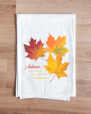 Autumn Leaves Towel