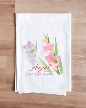 Gladiola - August Flower Towel