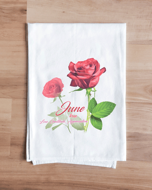 Rose - June Flower Towel