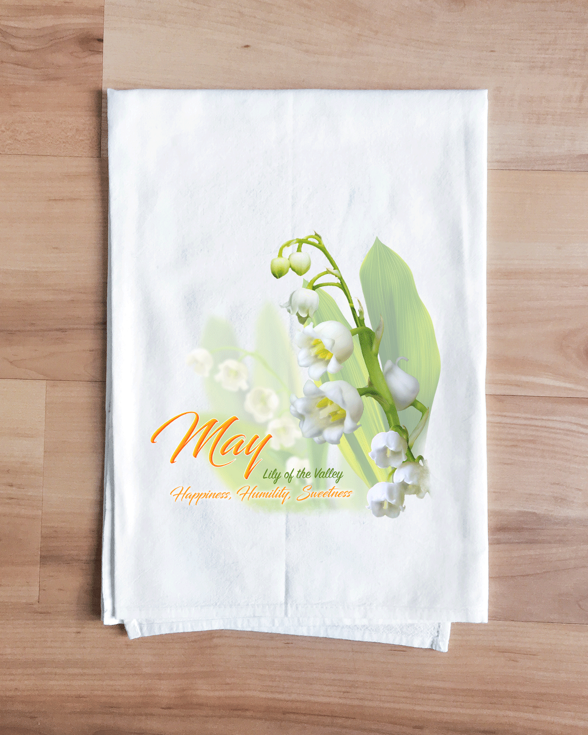 Lily of the Valley - May Flower Towel