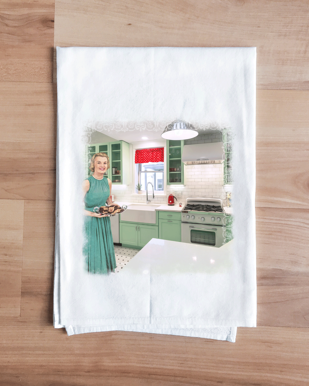 Avocado Green Classic Kitchen Towel