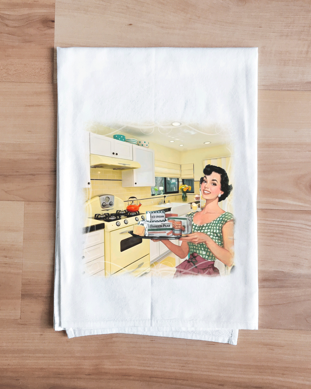 Harvest Gold Classic Kitchen Towel