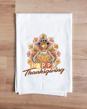 Happy Thanksgiving Turkey Towel