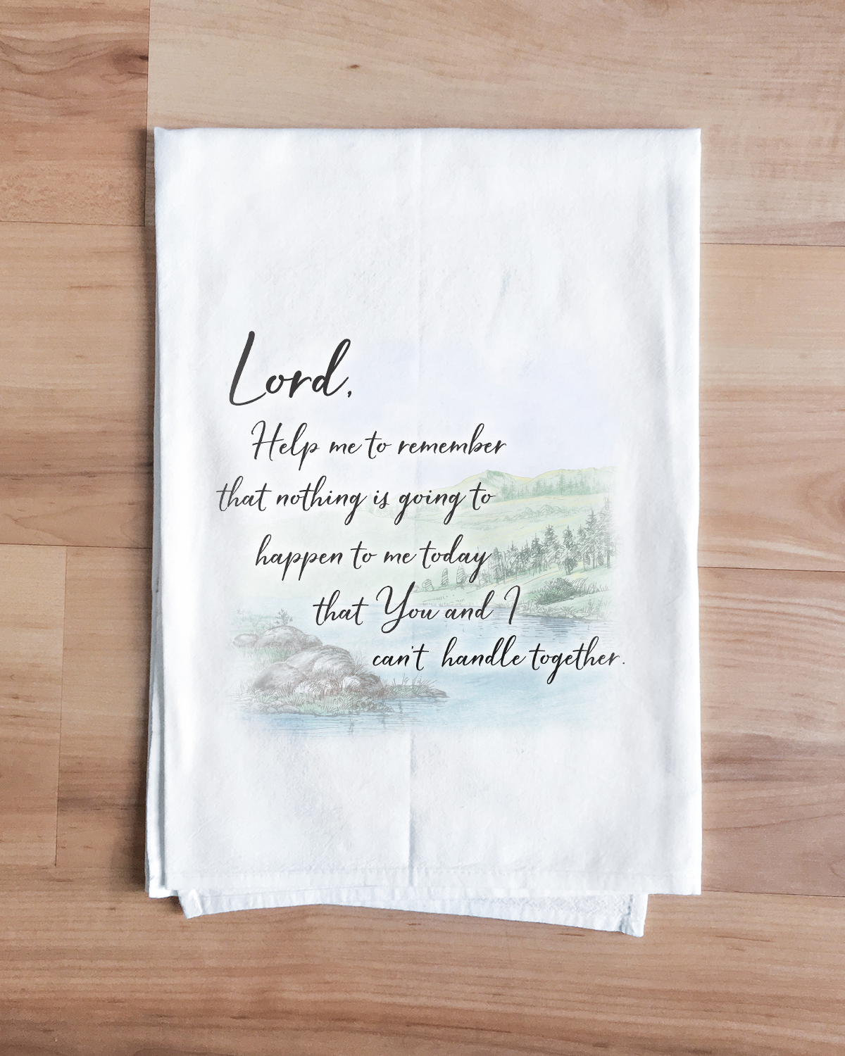 Calming Prayer Towel