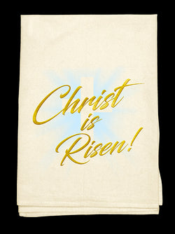 0E- Christ is Risen Tee-Towel™