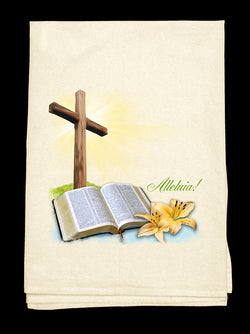 0E- Cross n Bible Tee-Towel™