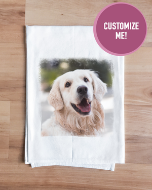 Custom Photo Towel
