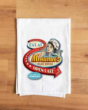 Momma's Hash House Towel