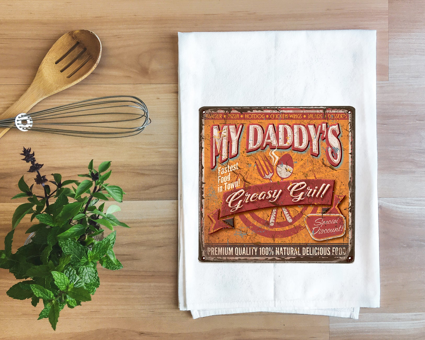 Daddy's Grill Towel