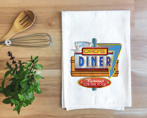Dad's Diner Towel