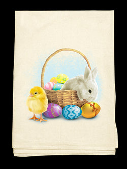 0E-Easter Basket Tee-Towel™