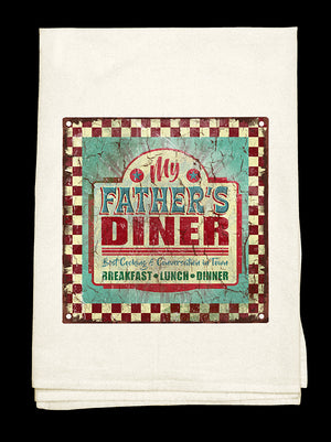 Father's Diner Towel