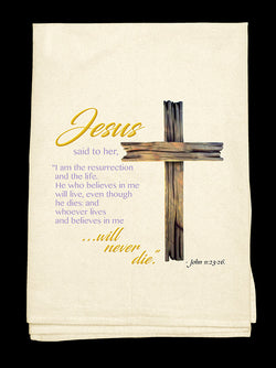 0E-Jesus Said Tee-Towel™