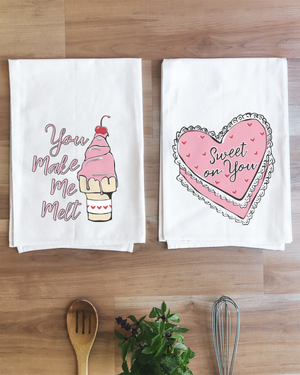 Valentine Sweetheart Set of 2 Towels
