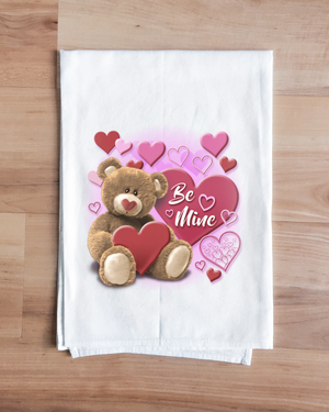 Be Mine Teddy Bear Towel