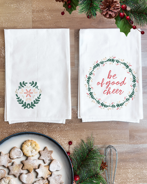 Good Cheer Christmas Towel Set