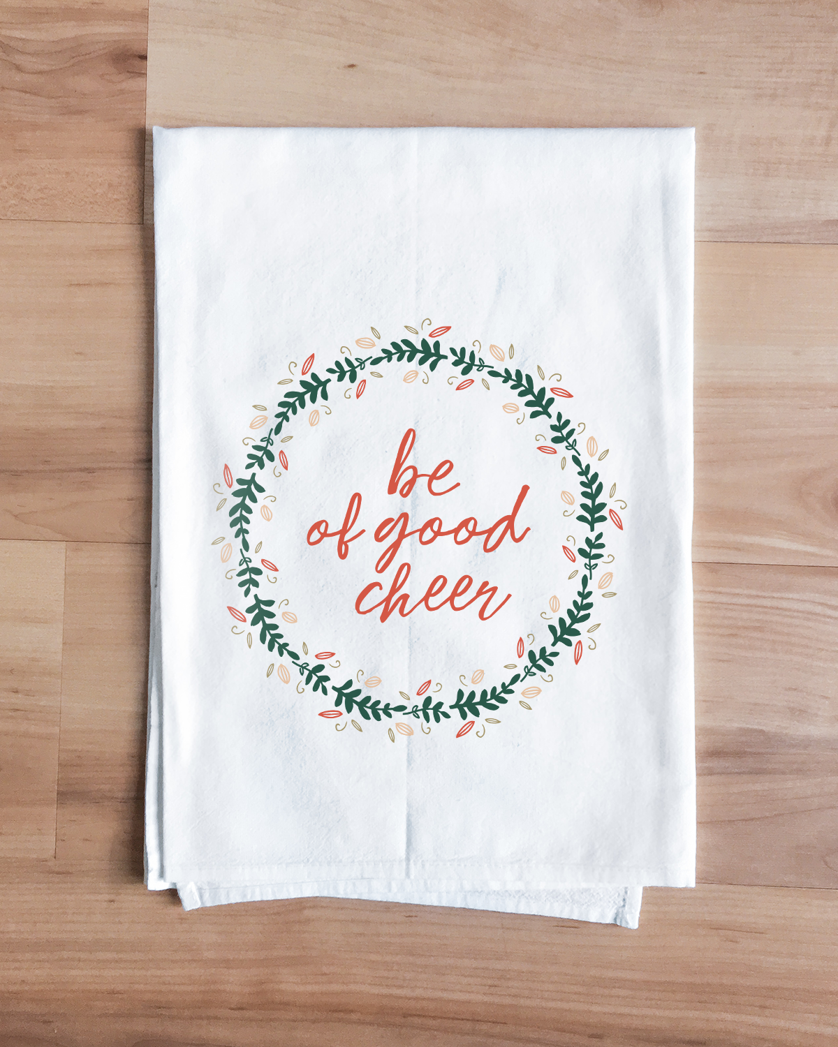 Good Cheer Christmas Towel