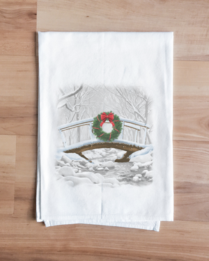 Over the River Christmas Towel