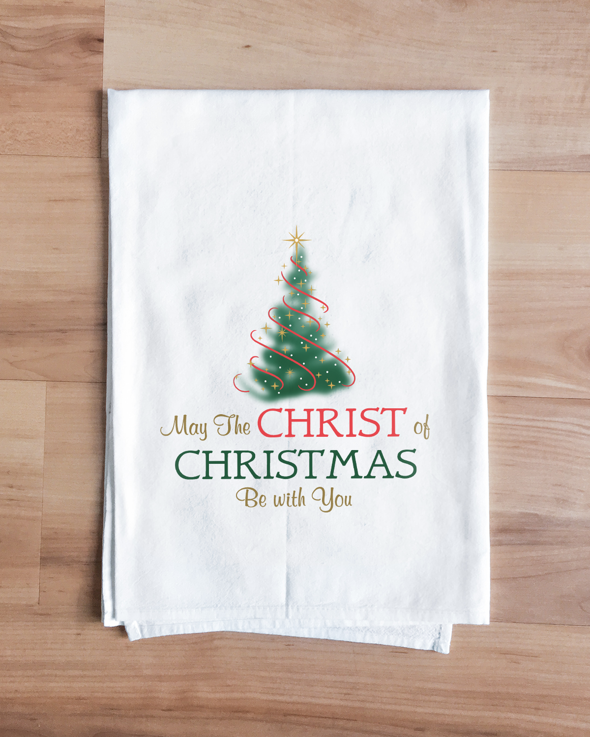 Christ in Christmas Towel