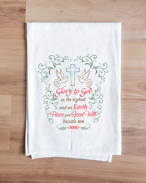 Glory Christmas Towel