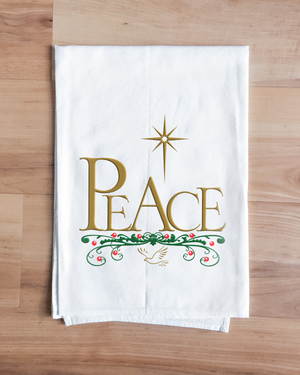 Heavenly Peace Holiday Towel