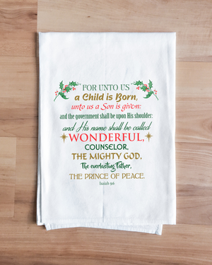 Prince of Peace Towel