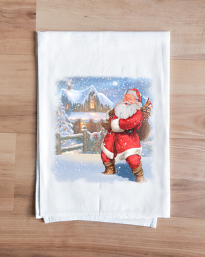 Santa's Coming Towel