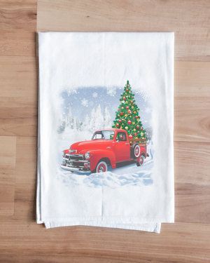Christmas Pickup Towel