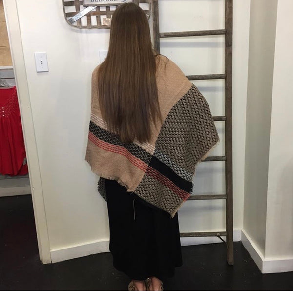 Blanket scarf: Warm, soft