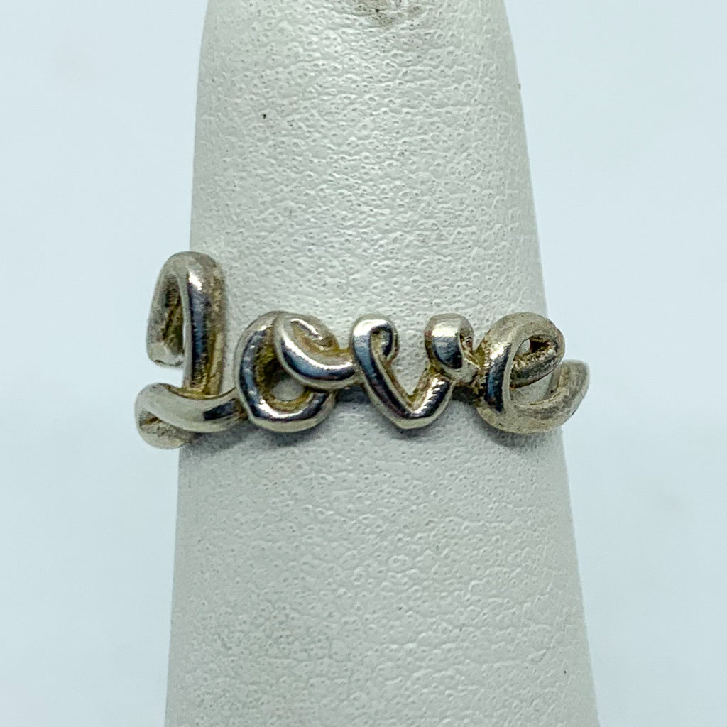 Ring: Sterling Silver LOVE