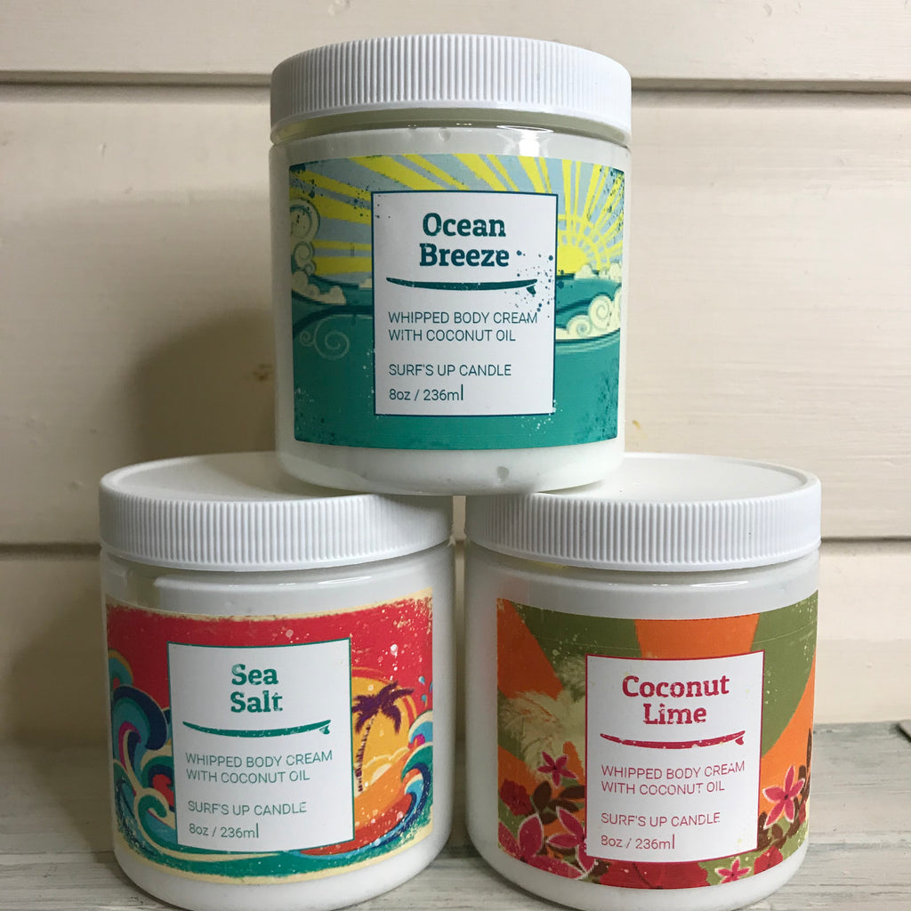 Surfs up body cream - OhhMy! Gifts and Things, LLC