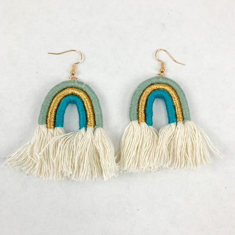 Earrings: Be Kind Rainbow
