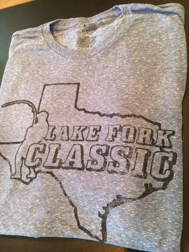 Short Sleeve Lake Fork Classic Tee (Blue Heather)