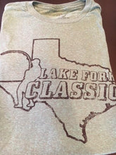 Short Sleeve Lake Fork Classic Tee (Green Heather)